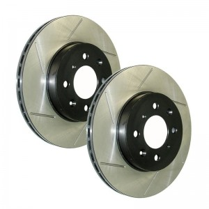 StopTech Sport Slotted Front Rotors - Honda 262mm 4x100 (Pair)