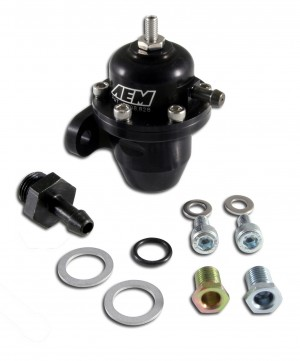 AEM Adjustable Fuel Pressure Regulator - Honda B-Series/D-Series Engines