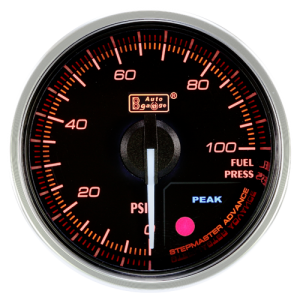 Autogauge 60mm Premium Series Gauge - Fuel Pressure
