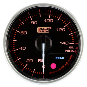 Autogauge 60mm Premium Series Gauge - Oil Pressure