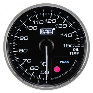 Autogauge 60mm Premium Series Gauge - Oil Temperature