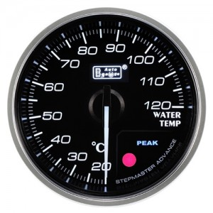 Autogauge 60mm Premium Series Gauge - Water Temperature