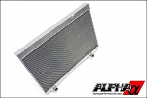 Alpha Performance Dual Pass Radiator Upgrade - Nissan GT-R