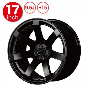 Origin Labo DRF-X7 Wheels - 17x9.5 +15 Black (Pair)