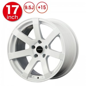 Origin Labo DRF-X7 Wheels - 17x9.5 +15 White (Pair)