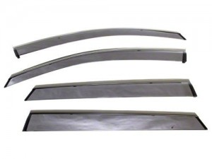 Subaru OEM Monsoon Visors - Subaru WRX/STI 2008-2014 (Hatch)