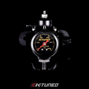 K-Tuned Billet Fuel Pressure Regulator Combo (with Gauge)