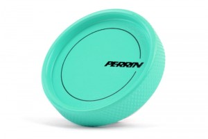 Perrin Oil Filler Cap - Hyper Teal